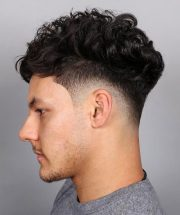 tapered fade haircut