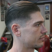 slicked undercut hairstyles