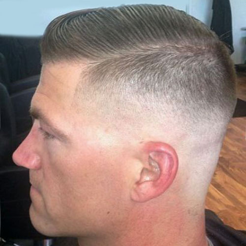 How To Give A Military Fade Haircut The Best Haircut Of 2018
