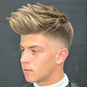 short sides long top haircuts