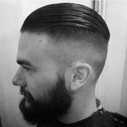 undercut slick hairstyle