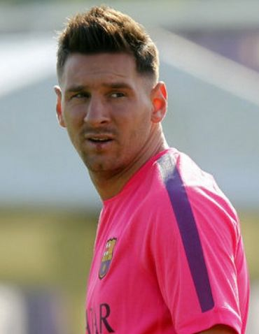 Leo Messi New Haircut And Hairstyle Pictures Men's Hair Blog