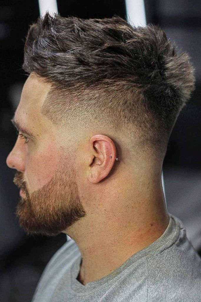 Military Medium Fade : military, medium, Haircuts, MensHaircuts.com