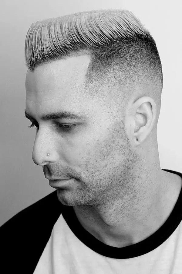 High Top Fade White Guy : white, Haircut, Guide, Ideas, MensHaircuts.com