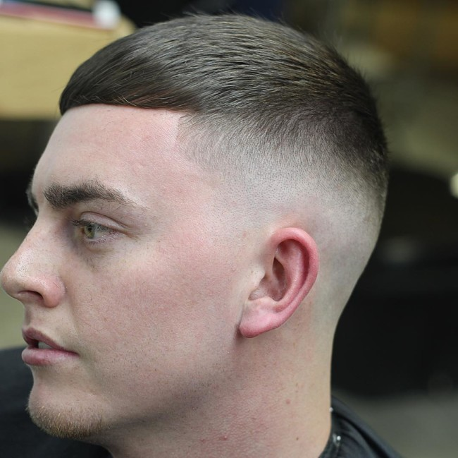 Tariqthebarber High Fade Haircut Short Crop High And Tight