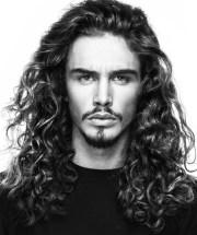 long hairstyles men - men's