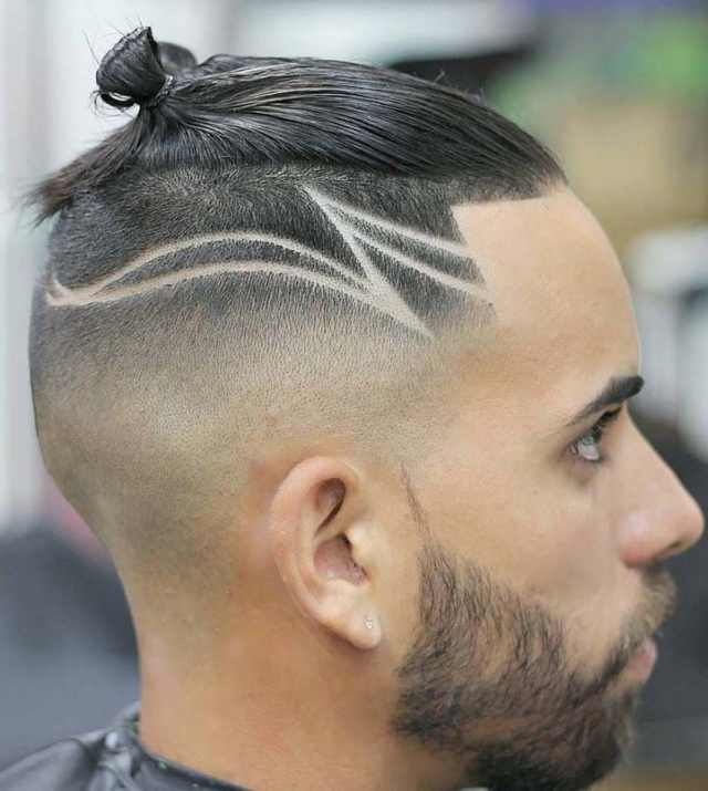 dashing ponytail hairstyles for men 2018 - men's haircut styles