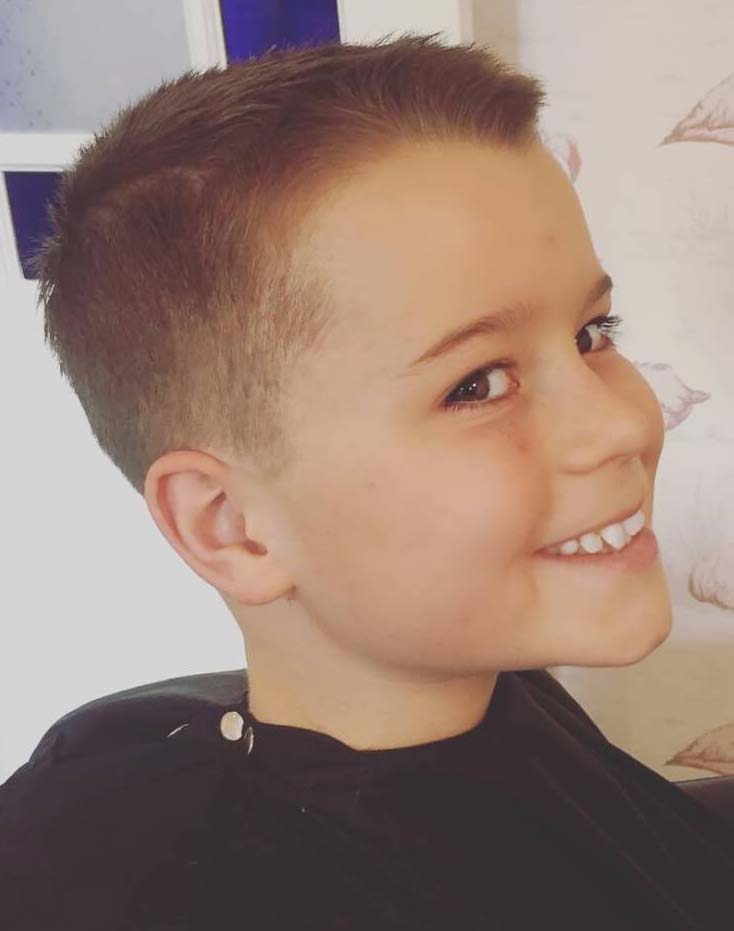 Astonishing 11 Year Old Boys Hairstyles 2018 Men\'s Haircut ...