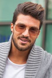 create quiff hairstyle