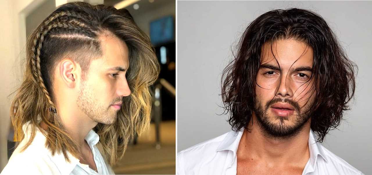 Top 20 Sexy Shoulder Length Hairstyles For Men Cool Shoulder