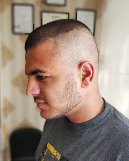 Crew Cut Military : military, Hairstyles, Men's, Style