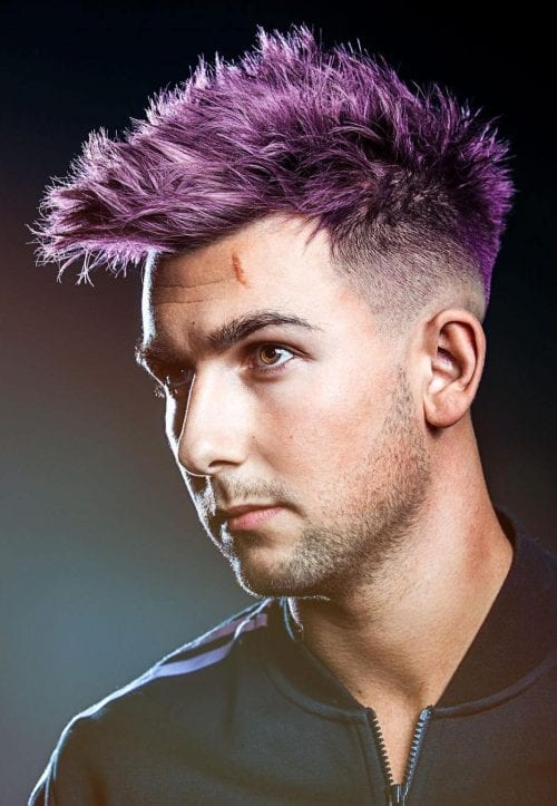 Mens Hairstyles With Highlights 70 Best Hair Dyes For Men Men 39;s Hair Color Trends 2021
