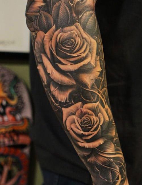Rose Tattoo On Arm : tattoo, Tattoos, Designs, Ideas, (2021, Guide)