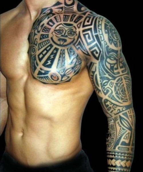 Tribal Tattoos Sleeves : tribal, tattoos, sleeves, Tribal, Tattoos, Designs, Ideas, (2021, Guide)
