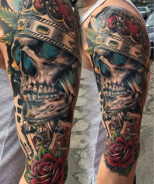 Male Half Sleeve Tattoo Ideas : sleeve, tattoo, ideas, Sleeve, Tattoos, Ideas, Designs, (2021, Guide)