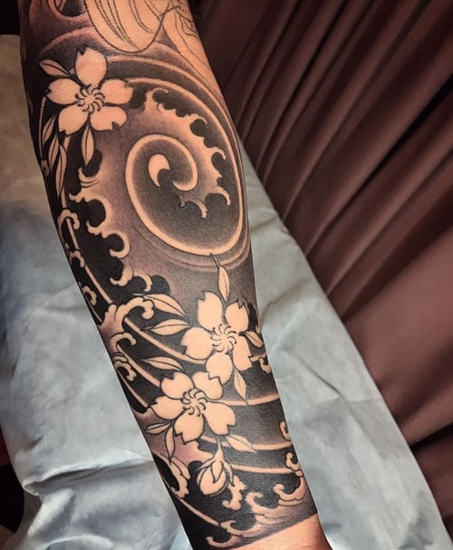 Japanese Forearm Tattoo : japanese, forearm, tattoo, Japanese, Tattoos, Designs,, Ideas, Meanings