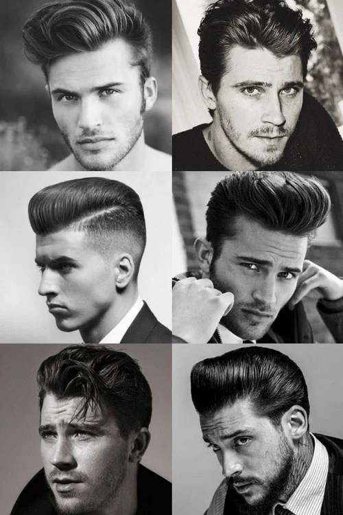 50s And 60s Male Pompadour : pompadour, 1950s, Hairstyles, Men's, Today
