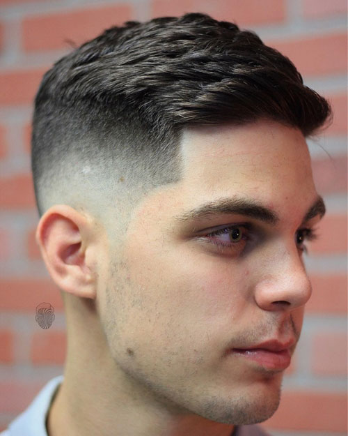 White Guy Fade : white, White, Haircuts, (2021, Guide)