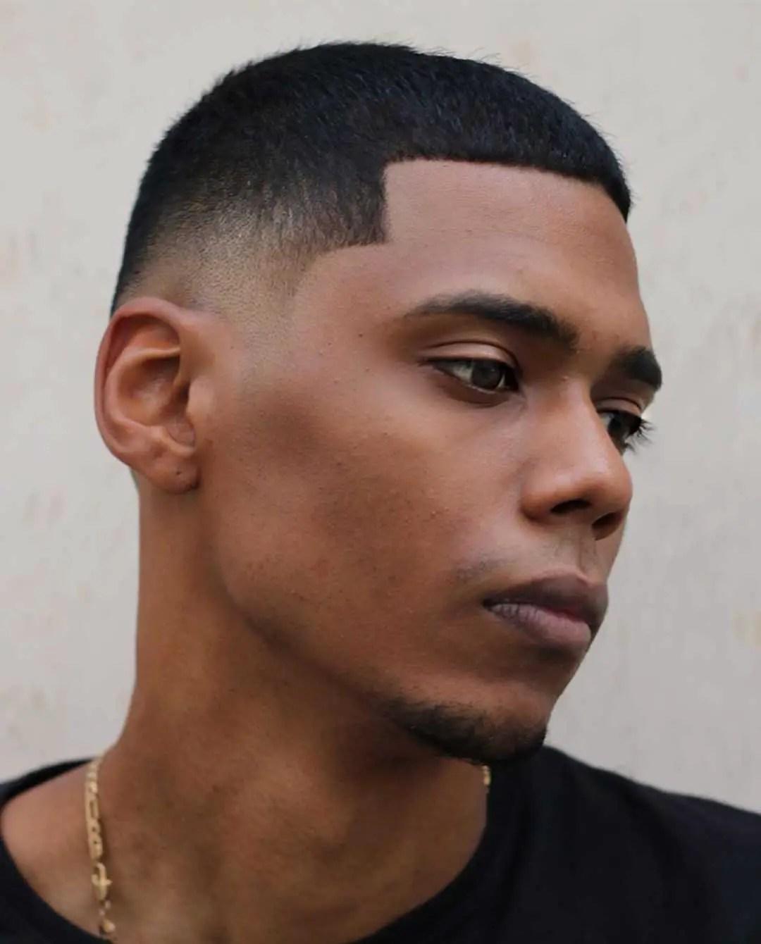 Black Caesar Cut : black, caesar, Caesar, Haircut:, Fade,, Light, Hairstyle, Ideas