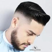 stylish comb over fade haircuts