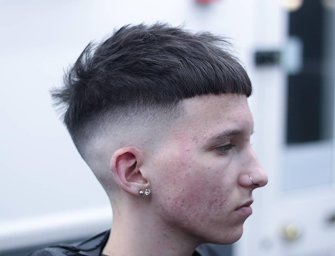 Manner Haarschnitt Seiten Ubergang