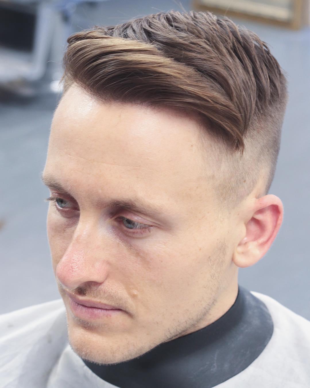 Manner Frisur Seiten Ubergang
