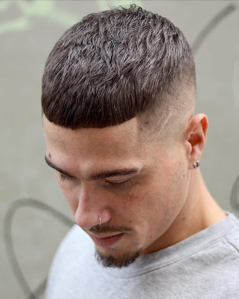 Fade Haircut With Line Design : haircut, design, Haircut, Designs, Lines:, Trends