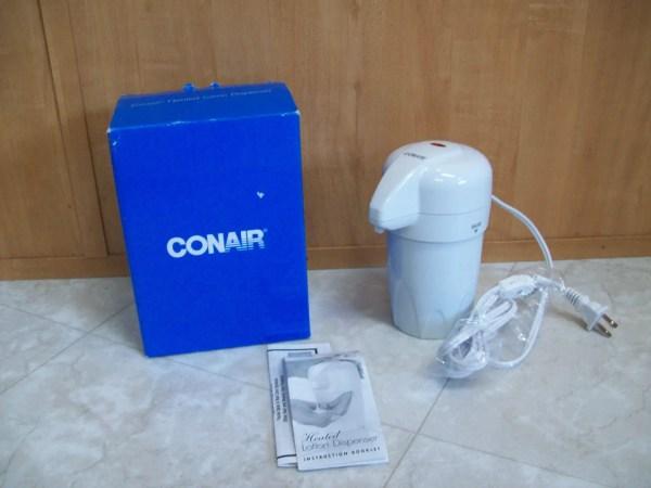 Heated Lotion Dispensers Moisturizing Skin