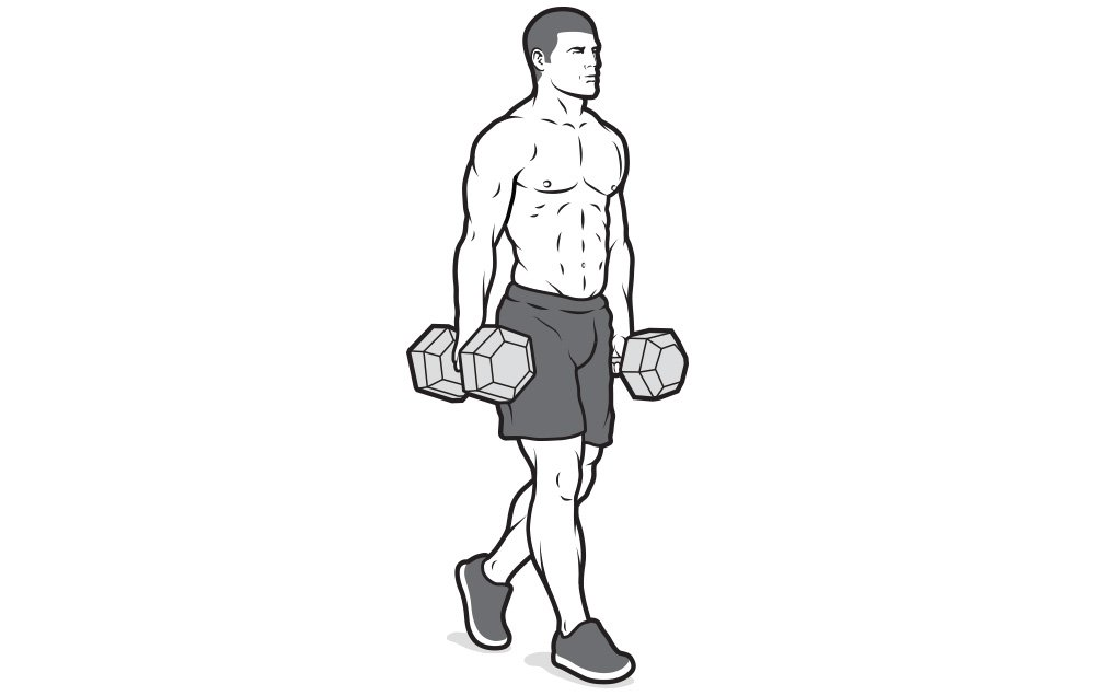 Build Forearms of Iron With This Farmer's Walk Workout