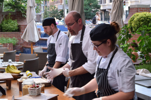 Chefs at Blue Duck