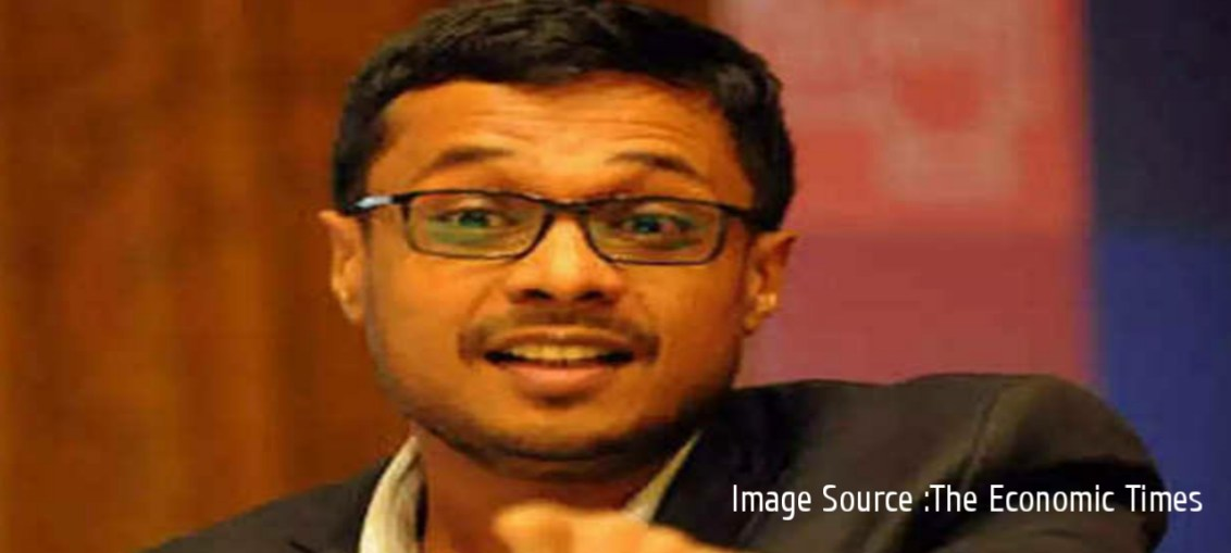 Representational Image : Sachin Bansal, source The Economic Times