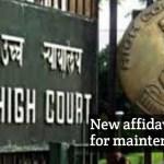 Delhi HC modified affidavit format for maintenance