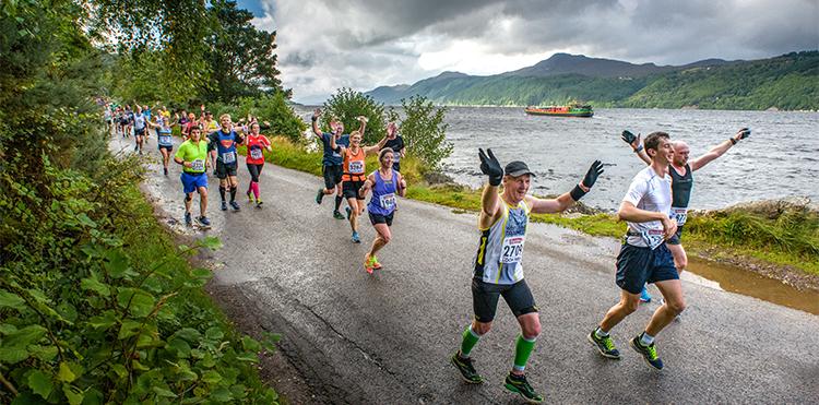 An iconic lochside race
