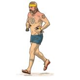 the running hippy