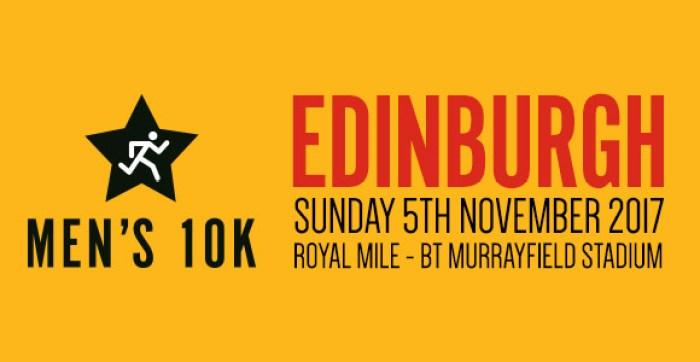 WIN a place: Edinburgh Men's 10K