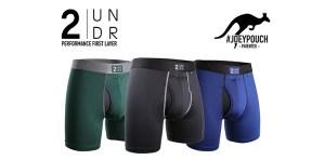 SAVE 15% off 2UNDR athletic underwear