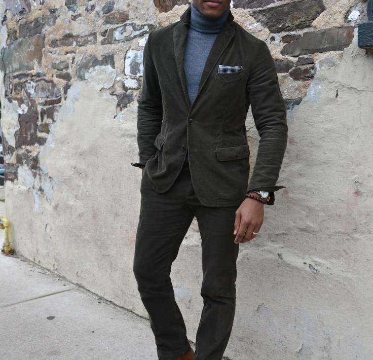 Onassis Clothing Corduroy Suit