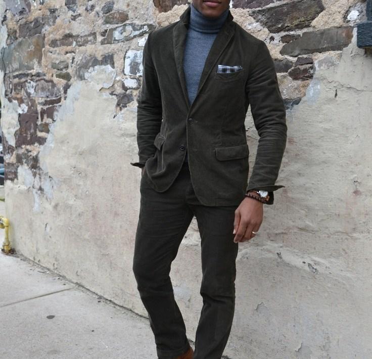 Onassis Clothing Corduroy Suit