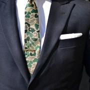 Hugh & Crye Cutaway Collar on Sabir Peele