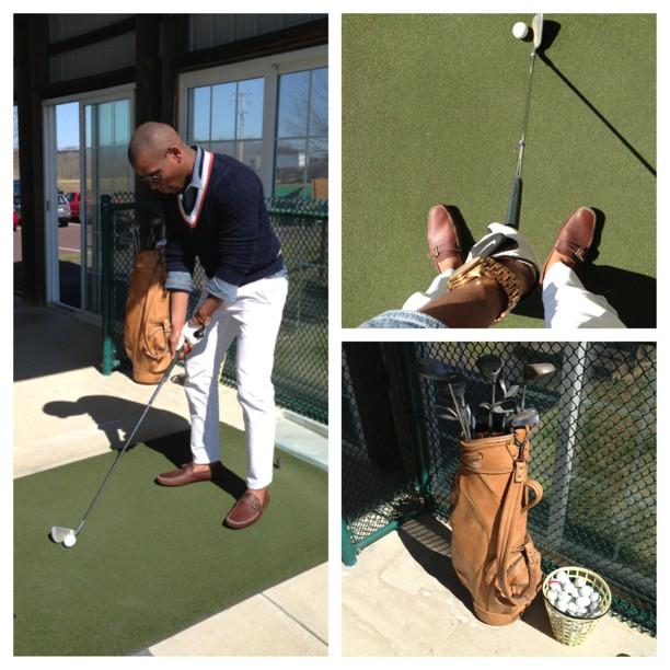 Sabir Cricket Sweater Golfing