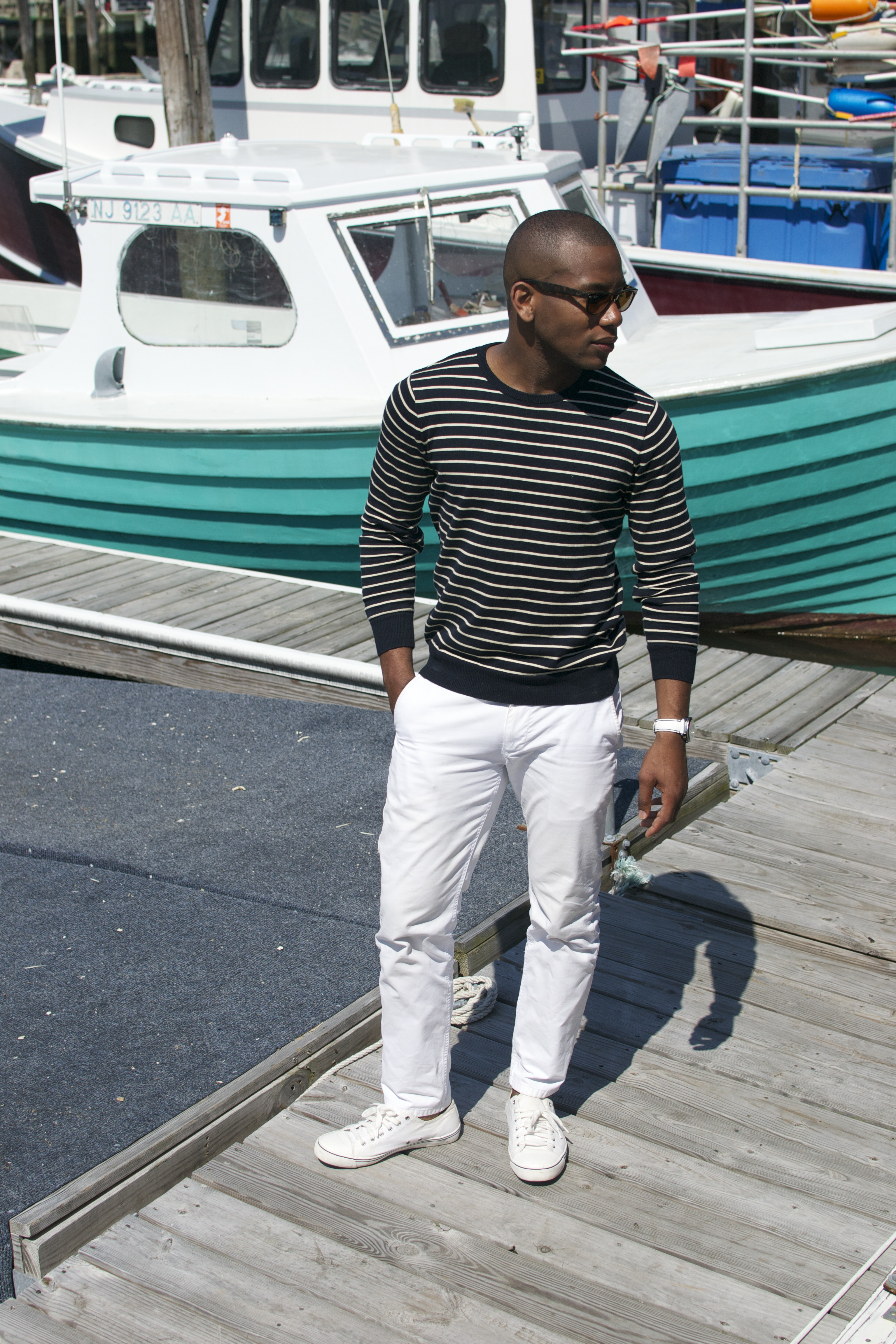 Sabir Of Men's Style Pro in Sperry Topsider Drifter Watch