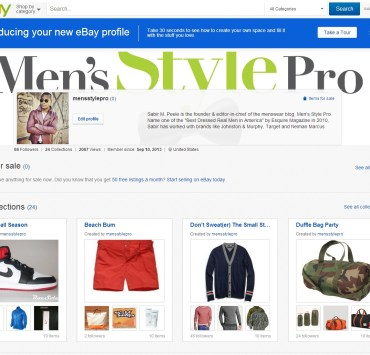 Men's Style Pro #eBaycollection