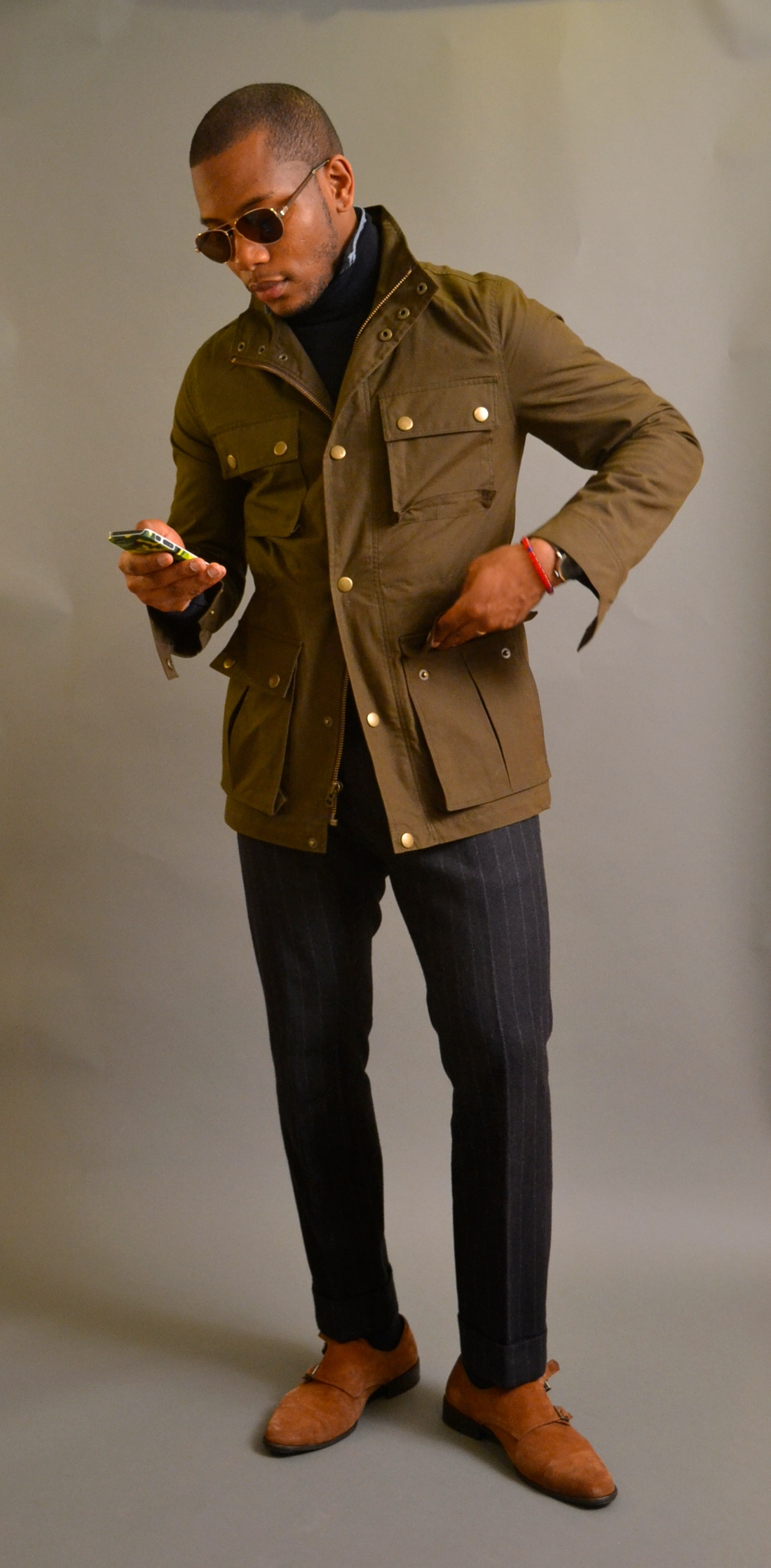 Bonobos Fenimore Field Jacket On Sabir Peele Of Men's Style Pro