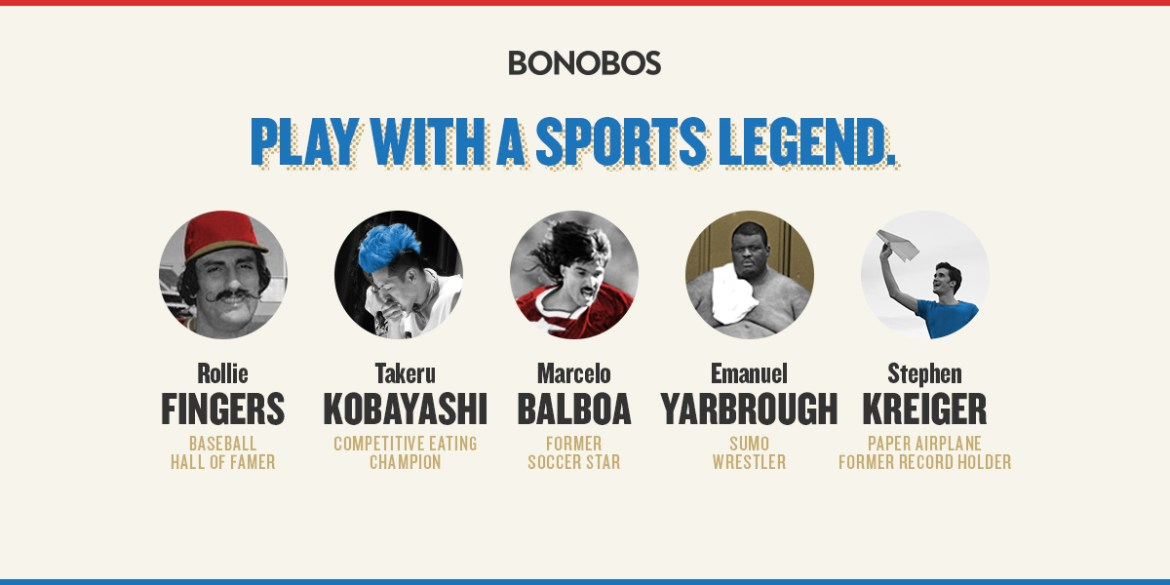 Bonobos Pro Am Athletes