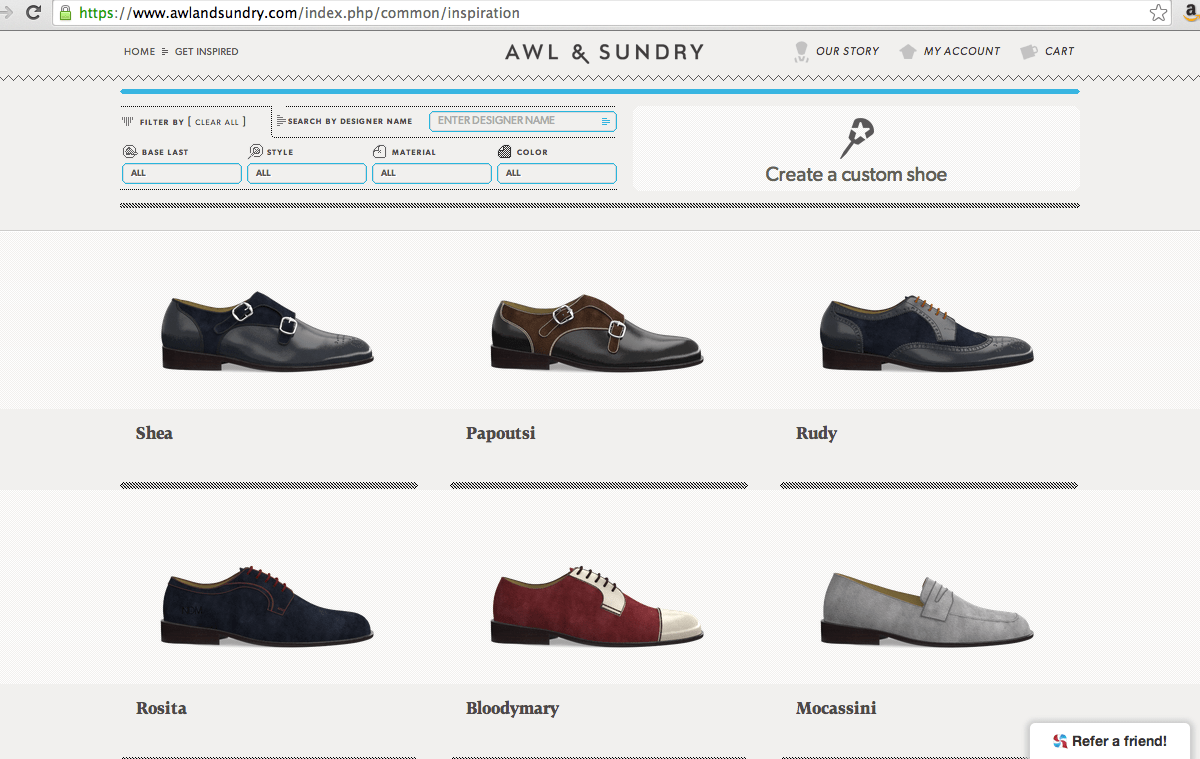 Awl & Sundry Custom Shoes