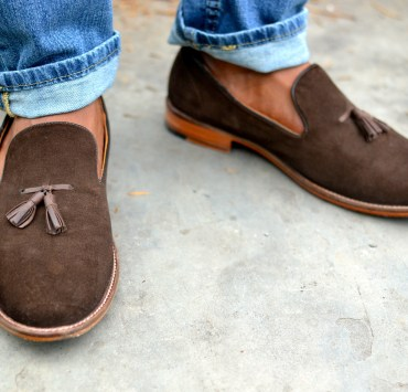 Beckett Simonon Brown Tassel Loafers