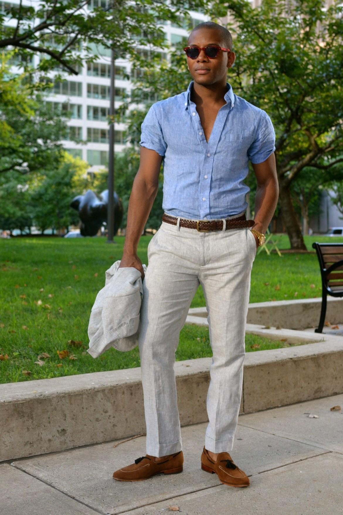 JJ threads custom button down shirt - Men's Style Pro
