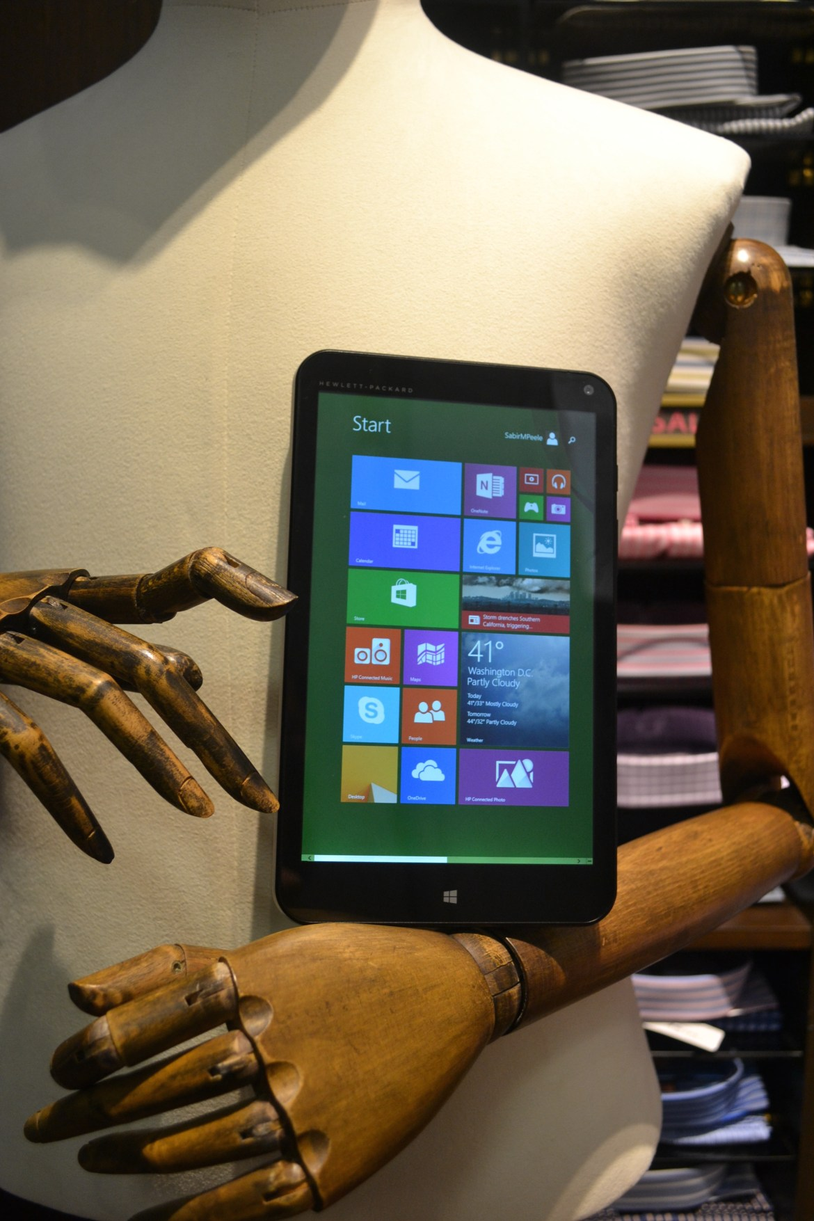 HP Stream 8 Tablet with Intel Inside®