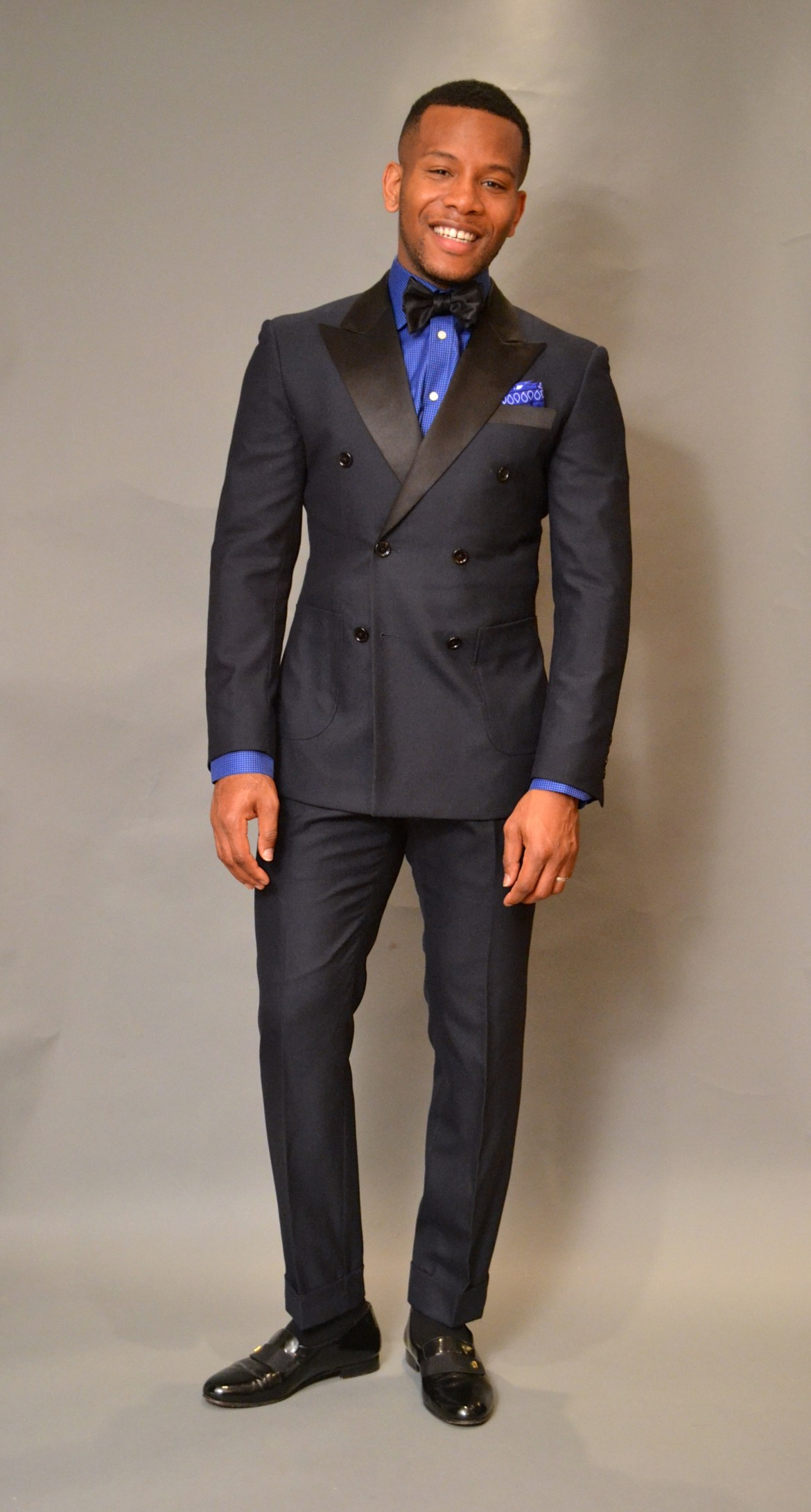 Men's Style Pro in Midnight Blue Indochino Tuxedo