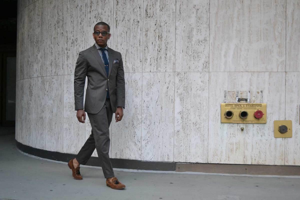 Warm Weather Essential: The Lanieri Green Cotton Suit